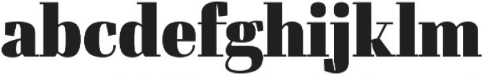 Felis otf (900) Font LOWERCASE