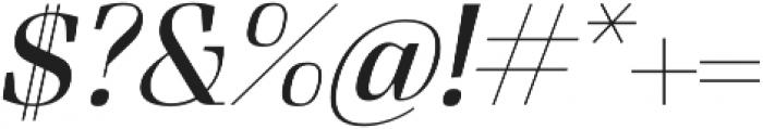FelisItalic otf (300) Font OTHER CHARS