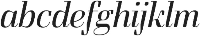 FelisItalic otf (300) Font LOWERCASE