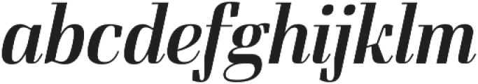 FelisItalic otf (400) Font LOWERCASE