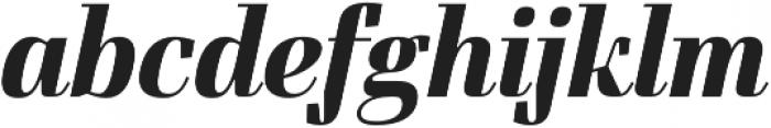 FelisItalic otf (700) Font LOWERCASE