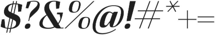 FelisOblique otf (400) Font OTHER CHARS