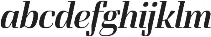 FelisOblique otf (400) Font LOWERCASE