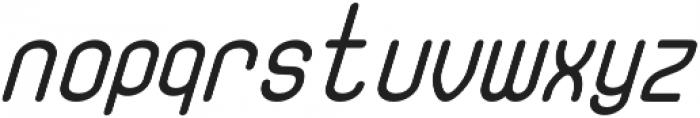 Fellix BoldItalic otf (700) Font LOWERCASE