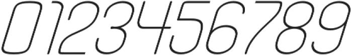 Fellix Italic otf (400) Font OTHER CHARS