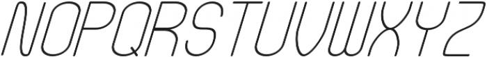 Fellix Italic otf (400) Font UPPERCASE