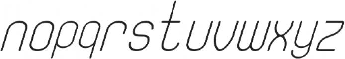 Fellix Italic otf (400) Font LOWERCASE