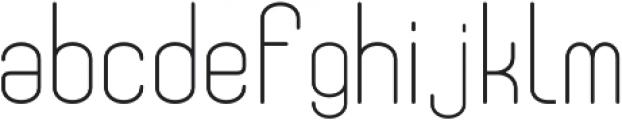 Fellix Regular otf (400) Font LOWERCASE