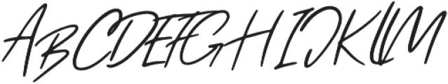 Femto otf (400) Font UPPERCASE