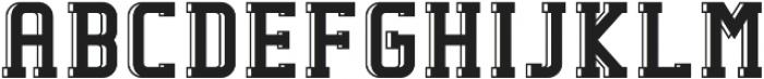 Fenrir Regular otf (400) Font UPPERCASE