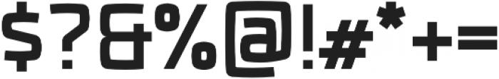 Fenton Bold otf (700) Font OTHER CHARS