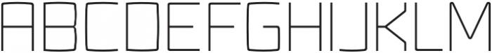 Fenton otf (300) Font UPPERCASE