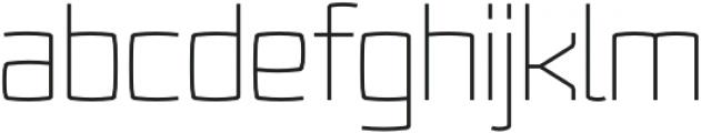 Fenton otf (300) Font LOWERCASE