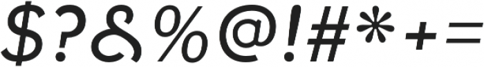 Fenwick Light Italic otf (300) Font OTHER CHARS