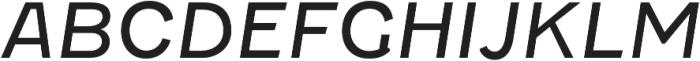 Fenwick Light Italic otf (300) Font UPPERCASE