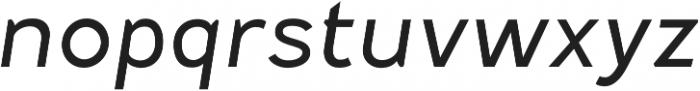 Fenwick Light Italic otf (300) Font LOWERCASE