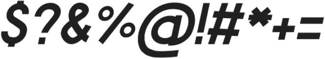 Feredon Italic otf (400) Font OTHER CHARS