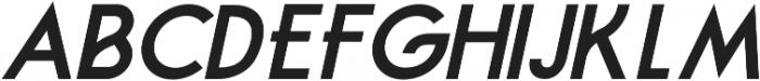 Feredon Italic otf (400) Font UPPERCASE