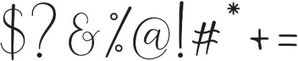 Ferinitta otf (400) Font OTHER CHARS