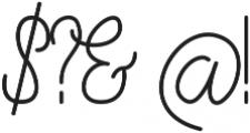 Fern ttf (400) Font OTHER CHARS