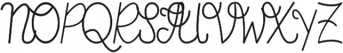 Fern ttf (400) Font UPPERCASE