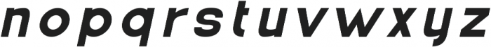 Ferret otf (700) Font LOWERCASE