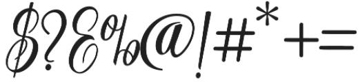 Ferrine Script Regular otf (400) Font OTHER CHARS