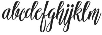Ferrine Script Regular otf (400) Font LOWERCASE