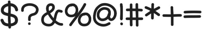 FerventSansExtraBlack ttf (900) Font OTHER CHARS