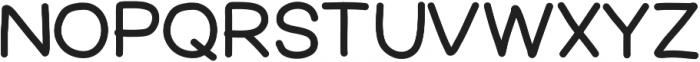FerventSansExtraBlack ttf (900) Font UPPERCASE
