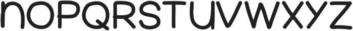 FerventSansExtraBlack ttf (900) Font LOWERCASE