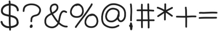 FerventSansExtraBold ttf (700) Font OTHER CHARS