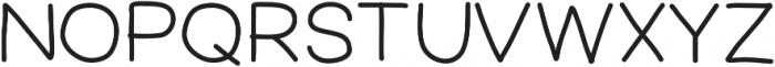 FerventSansExtraBold ttf (700) Font UPPERCASE