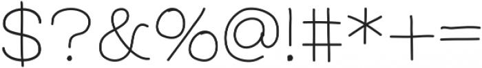 FerventSansSemiBold ttf (600) Font OTHER CHARS