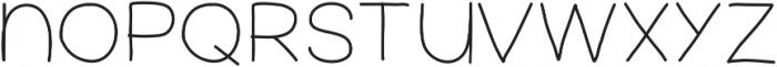 FerventSansSemiBold ttf (600) Font LOWERCASE