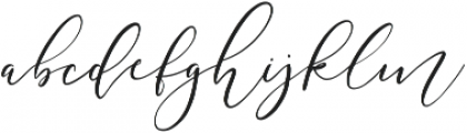 Festive Script Pure ttf (400) Font LOWERCASE