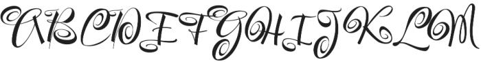 Festive otf (400) Font UPPERCASE