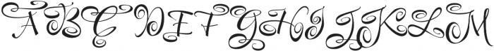 FestiveFive otf (400) Font UPPERCASE