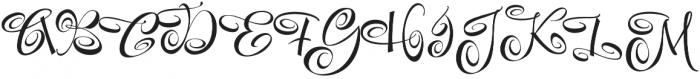 FestiveNine otf (400) Font UPPERCASE