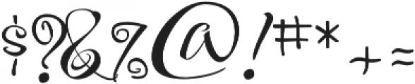 FestiveOne otf (400) Font OTHER CHARS