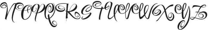 FestiveOne otf (400) Font UPPERCASE