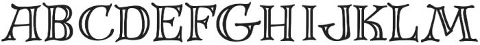 FestiveRoman otf (400) Font UPPERCASE