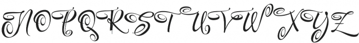 FestiveSeven otf (400) Font UPPERCASE