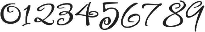 FestiveTen otf (400) Font OTHER CHARS