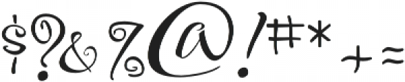 FestiveThree otf (400) Font OTHER CHARS