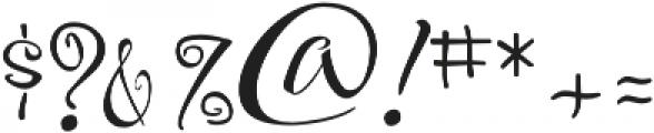 FestiveTwo otf (400) Font OTHER CHARS