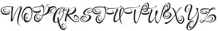FestiveTwo otf (400) Font UPPERCASE
