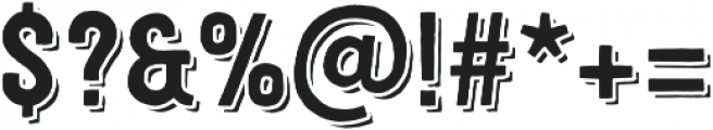 Festivo LC Basic R Shadow otf (400) Font OTHER CHARS