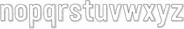 Festivo LC Outline Dots otf (400) Font LOWERCASE
