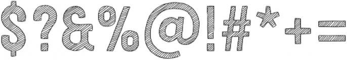 Festivo Letters No7 Regular otf (400) Font OTHER CHARS